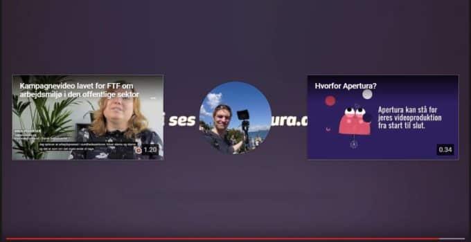 Tag kontrol over de afsluttende skærmbilleder i YouTube
